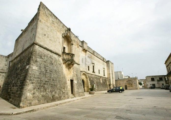Il castello Spinola-Caracciolo ad Andrano