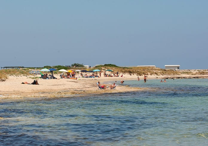 La spiaggia di Frigole foto di Ivan Tortorella