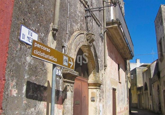 Un'immagine del centro storico di Montesardo