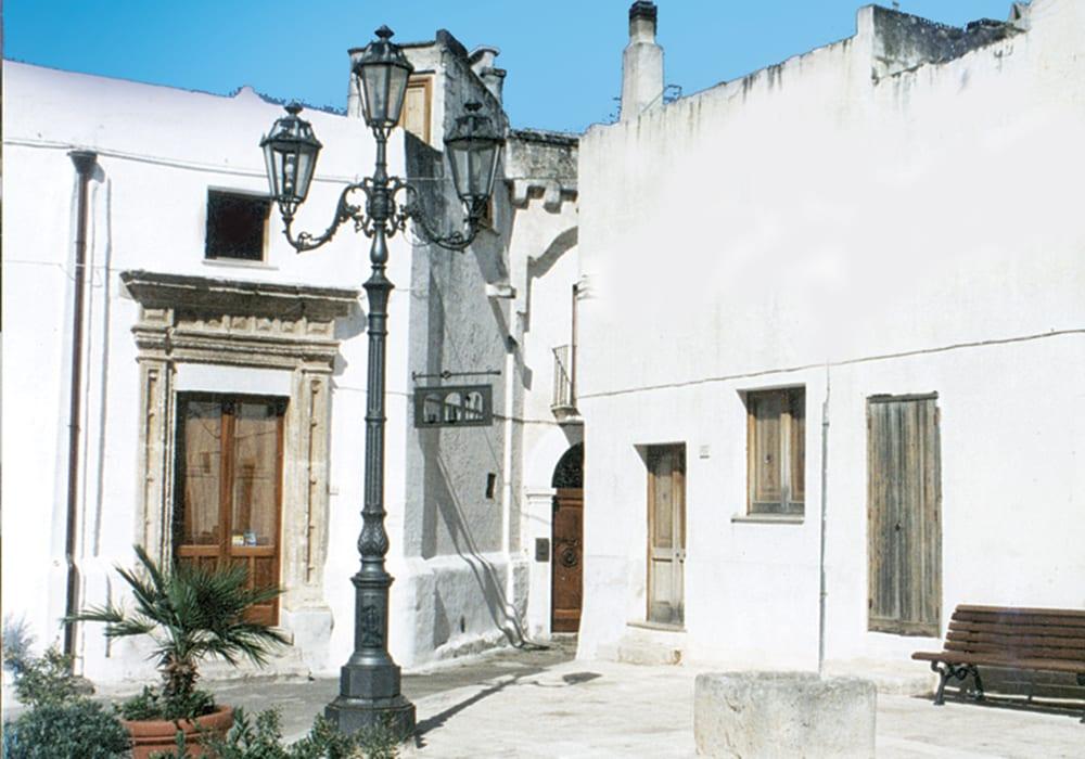 Uno scorcio del borgo di Felline