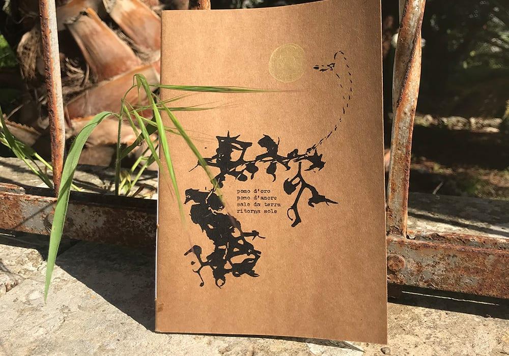 La copertina di un quaderno vegetale - Ph. Francesca Vitale